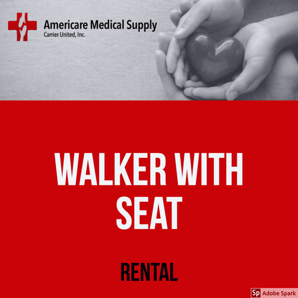 Walker With Seat Walker With Seat Medical Rentals Americare Medical Supply - Americare Medical Supply