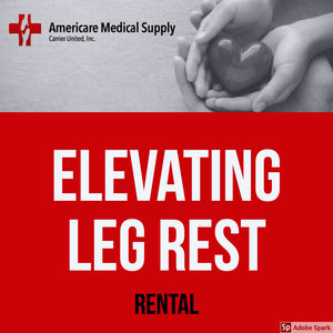 Elevating Leg Rest Each Elevating Leg Rest Each Medical Rentals Americare Medical Supply - Americare Medical Supply