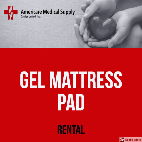 Gel Mattress Pad Gel Mattress Pad Medical Rentals Americare Medical Supply - Americare Medical Supply
