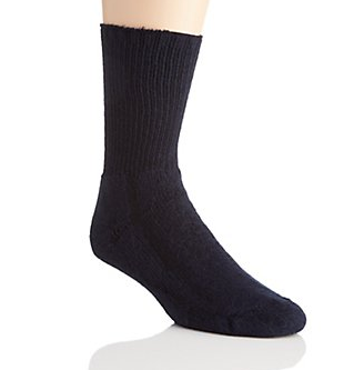 Salk HealthDri Diabetic Friendly Socks, Black Salk HealthDri Diabetic Friendly Socks, Black Socks Salk - Americare Medical Supply
