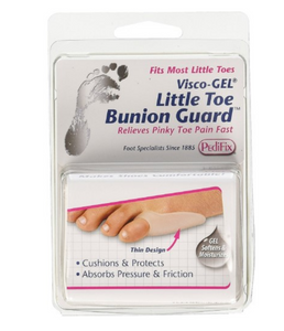 PediFix Visco-gel Little Toe Bunion Guard PediFix Visco-gel Little Toe Bunion Guard Bunion Relief PediFix - Americare Medical Supply