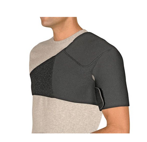 FLA Orthopedics Safe-T-Sport Neoprene Shoulder Support, Black FLA Orthopedics Safe-T-Sport Neoprene Shoulder Support, Black SHOULDER SUPPORT FLA Orthopedics - Americare Medical Supply