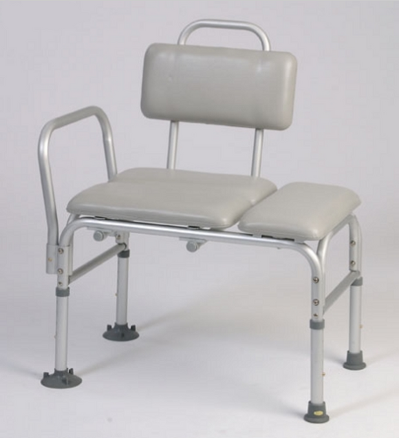 Alex Padded Transfer Bench Alex Padded Transfer Bench Bath Benches Alex - Americare Medical Supply