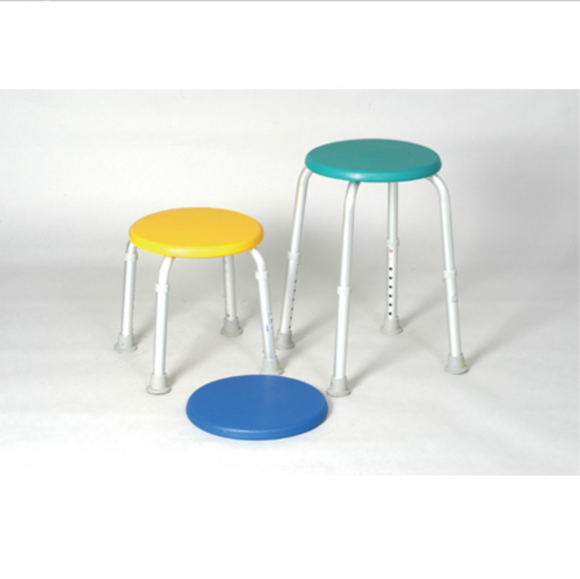 Alex Round Bath Stool Alex Round Bath Stool Bath Seats Alex - Americare Medical Supply