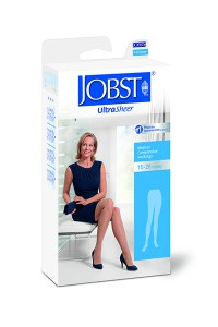 Jobst UltraSheer Compression Stockings 20-30mmHg Thigh High Closed Toe