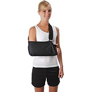 Ossur Premium Padded Arm Sling Black Ossur Premium Padded Arm Sling Black Arm Slings Ossur - Americare Medical Supply