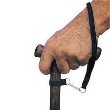 Alex DME Cane Wrist Strap with Snap Off Clip