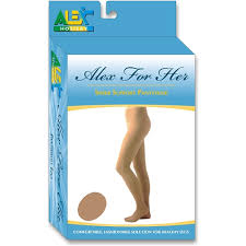 Alex Orthopedic Sheer Pantyhose Nude 20-30 mmHg