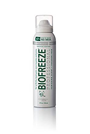 Biofreeze Spray 4oz Biofreeze Spray 4oz Soothing Sprays Biofreeze - Americare Medical Supply