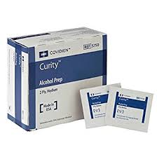 Covidien Alcohol Preps 200 2 ply 5750 Covidien Alcohol Preps 200 2 ply 5750 Alcohol Preps Covidien - Americare Medical Supply