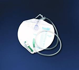 Bardia Urinary Drainage Bag 2000ml RX Bardia Urinary Drainage Bag 2000ml RX Urinary Bed Bag BARD - Americare Medical Supply