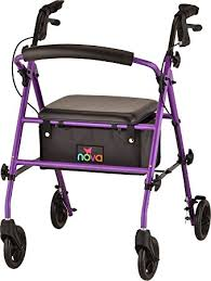 "Nova 6"" Wheel Purple 4235PL Rollator"