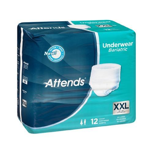 Attends Absorbent Underwear - Heavy Absorbency Attends Absorbent Underwear - Heavy Absorbency Pull-On Briefs Attends - Americare Medical Supply
