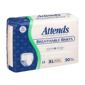 Attends Incontinent Briefs - Heavy Absorbency Attends Incontinent Briefs - Heavy Absorbency Fitted Tab Briefs Attends - Americare Medical Supply