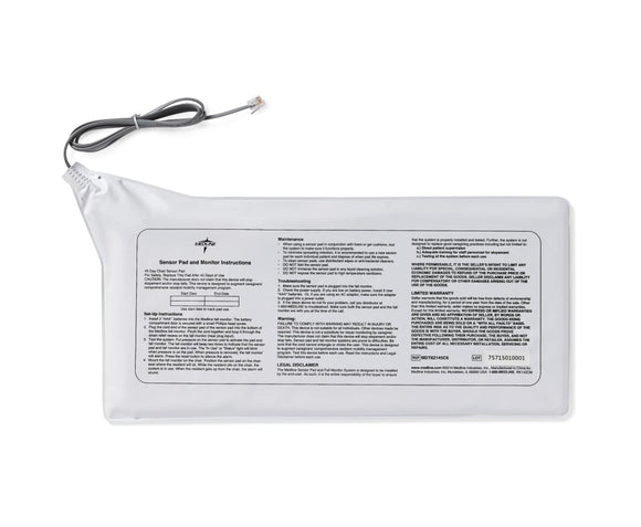 Medline Bed Alarm Sensor Pad 1 Year warranty Medline Bed Alarm Sensor Pad 1 Year warranty ALARM Medline - Americare Medical Supply