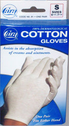 Cara Cotton Gloves Cara Cotton Gloves Gloves Cara - Americare Medical Supply