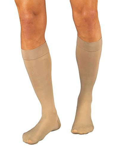 917a2a3a323 Jobst Relief 20-30mmHg Beige Knee High Closed Toe Compression Stockings