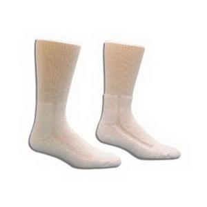 HealthDri Diabetic Friendly Socks, White HealthDri Diabetic Friendly Socks, White Socks HealthDri - Americare Medical Supply
