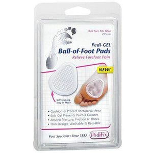 PediFix Pedi-gel Ball-of-foot Pad, 2-Count PediFix Pedi-gel Ball-of-foot Pad, 2-Count Ball of Foot Pad PediFix - Americare Medical Supply