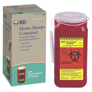 B & D Home Sharps Container B & D Home Sharps Container Sharps Containers B & D - Americare Medical Supply