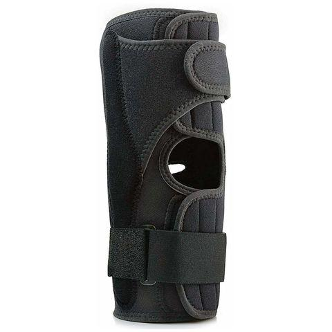 FlA Orthopedics Pro-lite Airflow Wrap Around Hinged Knee Brace Black