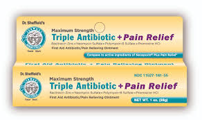 Dr. Sheffield's Dr. Sheffield's Triple Antibiotic + Pain Relif Dr. Sheffield's Dr. Sheffield's Triple Antibiotic + Pain Relif Antibiotics Dr. Sheffield's - Americare Medical Supply