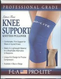 FLA PRO-LITE Latex Free Knee Support Knitted Pullover FLA PRO-LITE Latex Free Knee Support Knitted Pullover Knee Support FLA PRO-LITE - Americare Medical Supply