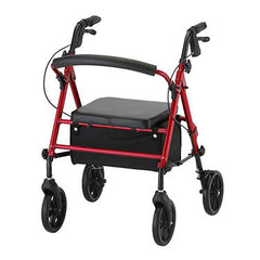 "Nova Medical GetGo Groove Rolling Walker 8"" wheel"