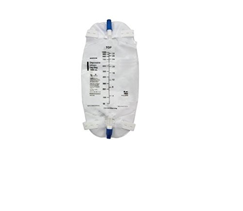 McKesson Disposable Urinary Leg Bag 1000mL McKesson Disposable Urinary Leg Bag 1000mL Urinary Leg Bags McKesson - Americare Medical Supply