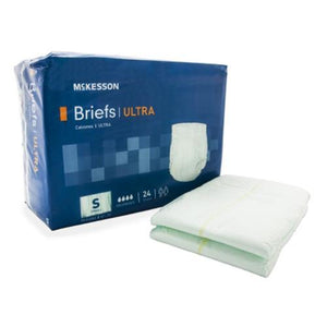 McKesson Ultra Incontinent Briefs - Heavy Absorbency McKesson Ultra Incontinent Briefs - Heavy Absorbency Fitted Tab Briefs McKesson - Americare Medical Supply