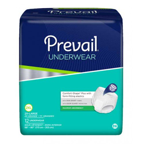 Prevail Disposable Underwear Prevail Disposable Underwear Adult Briefs Americare Medical Supply - Americare Medical Supply