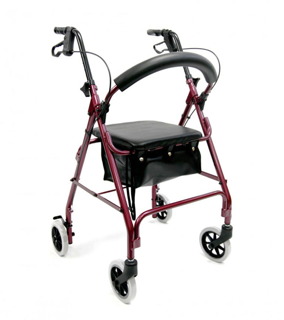 Karman Rollator W/Seat and Loop Brake