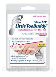 PediFix Visco-Gel Little Toe Buddy One Size Fits Most 1 Piece