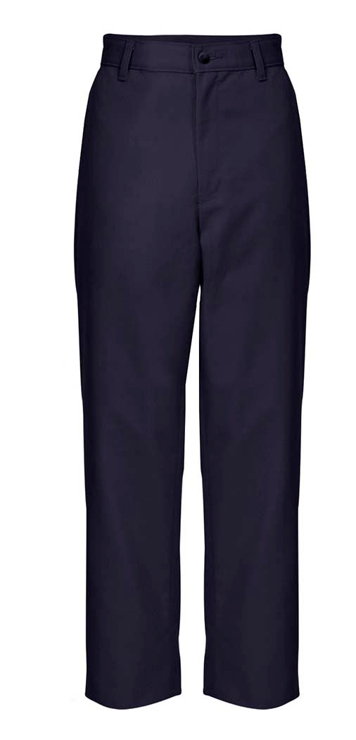 Young Men ( Prep Sizes ) Plain Front Pants – Navy