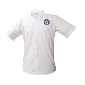Short Sleeve Oxford Shirt w/ PATCH (Optional)