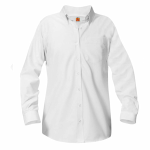 Long Sleeve Oxford Blouse (Required)