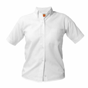 Short Sleeve Oxford Blouse (Required)