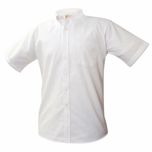 Short Sleeve Oxford Shirt White (Required)