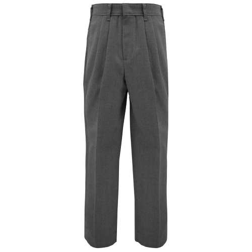 Men Sizes Tri-Blend Pleated Slacks (Required)