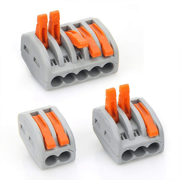 Multi-Wire Connectors (Set of 15)