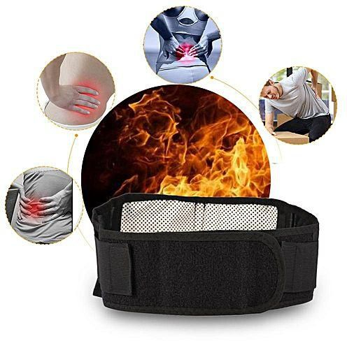Bio-Magnetic Therapy Self-Heating Waist Belt