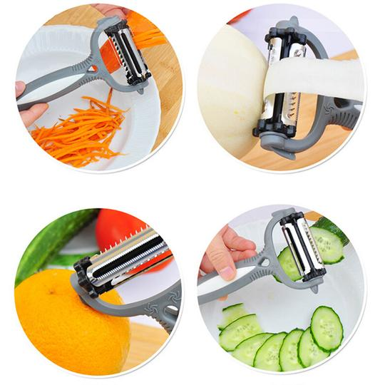 3-In-1 Rotational Vegetable Peeler