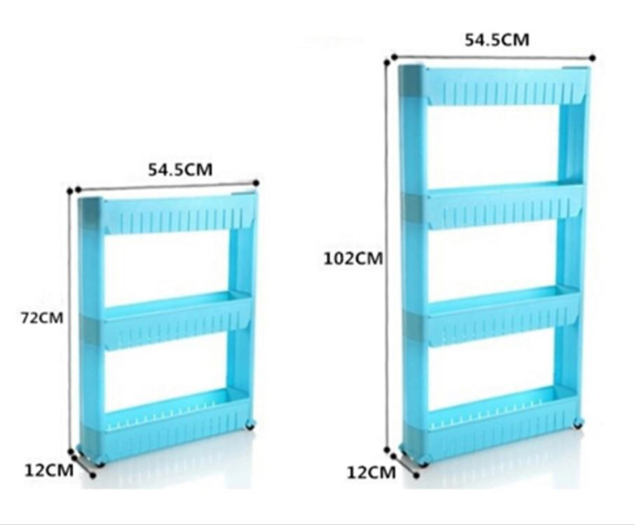 Movable Gap Storage Shelf