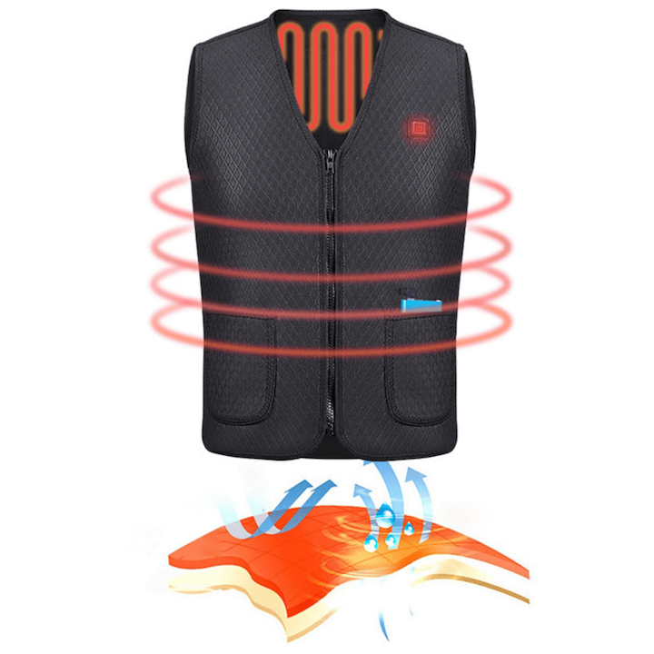 USB Rechargeable heat vest