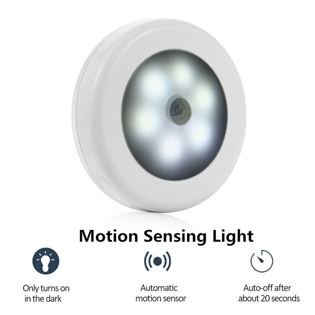 Motion Activated LED Light