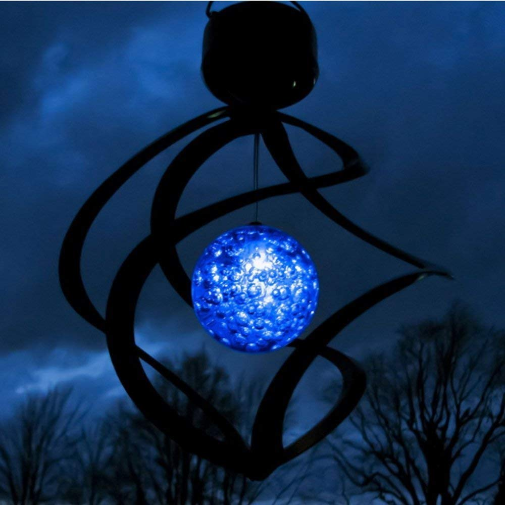 LED Color Changing Wind Chime Light