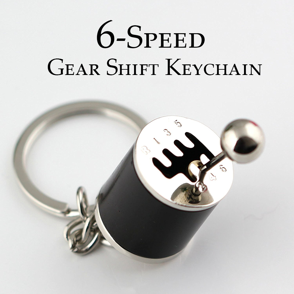 6-Speed Gear Shift Keychain