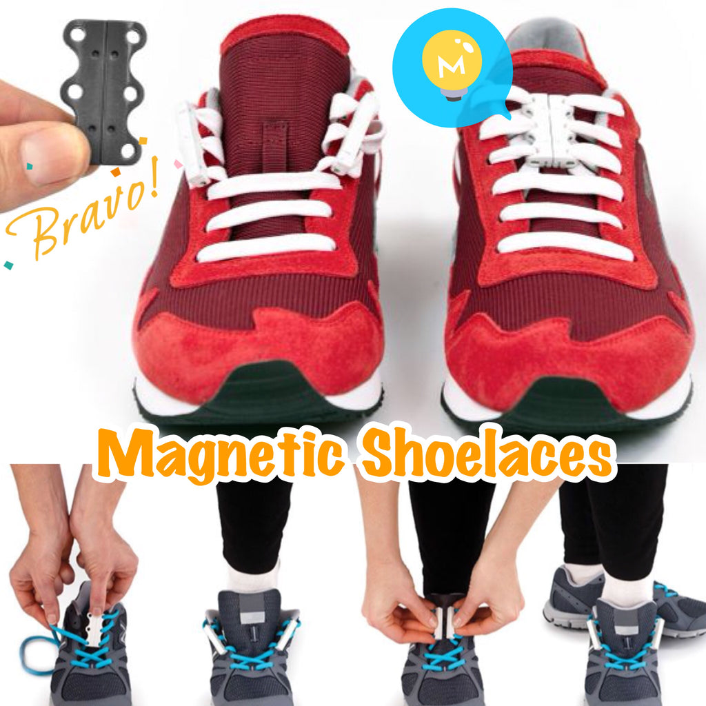 Easy Magnetic Shoelaces