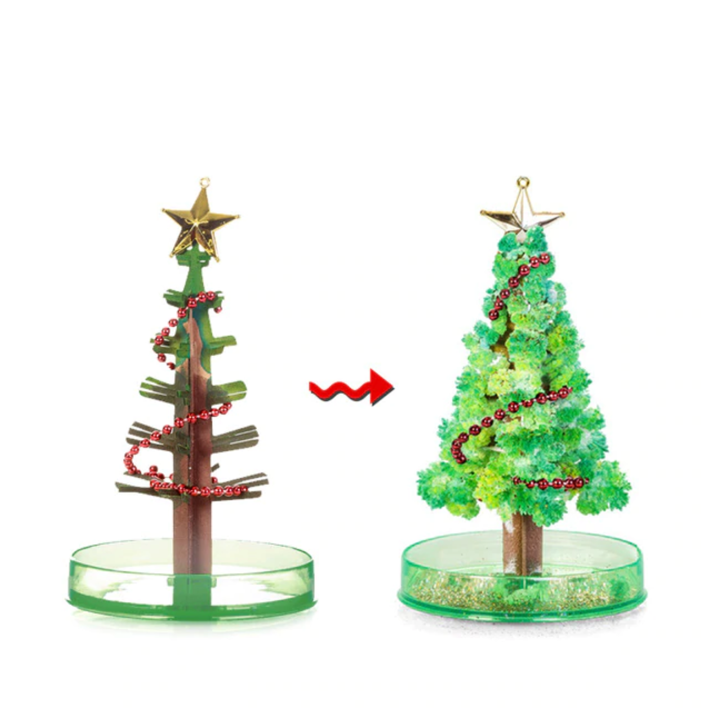 Crystal Growing X'MAS Tree