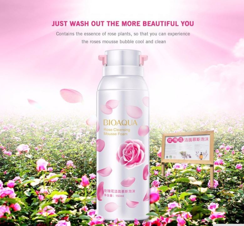 3D Rose Cleansing Foam